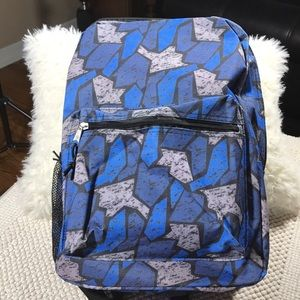 Other - Backpack canvas blue and black